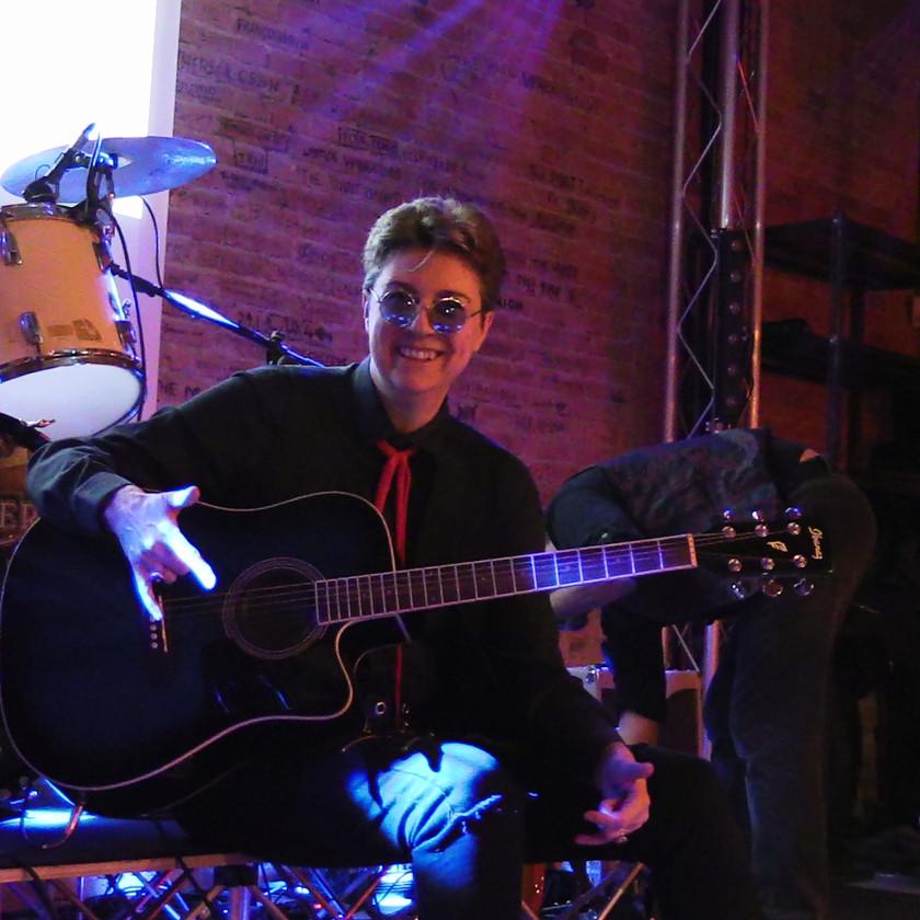 Aladdin Insane David Bowie Tribute | Aladdin Insane at Mattorosso | Ambra Mattioli at Mattorosso