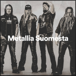 """Official Spotify curated playlist called """"Metal from Finland"""""""