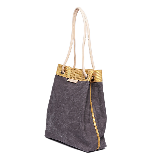 UA0203 水洗帆布蛇紋包 Clubbing Bag