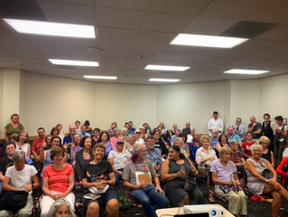 Tucson Salvage reading at Tucson library sells out.