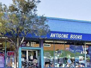 Reading and Signing Spent Saints Friday (April 7) at Antigone Books in Tucson
