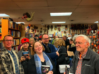 Standing Room Only at Book Beat in Detroit for Tucson Salvage Event