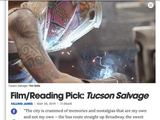 LA Weekly picks Tucson Salvage reading/screening as event of the week