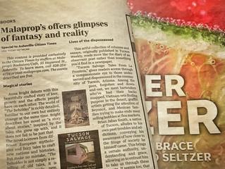 Killer Tucson Salvage book review in Asheville Scene