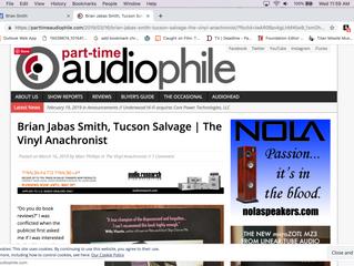 The Vinyl Anachronist Reviews Tucson Salvage