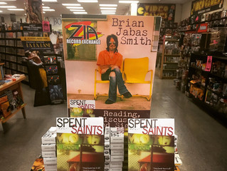 Spent Saints Reading at Zia Records in Tempe, Arizona
