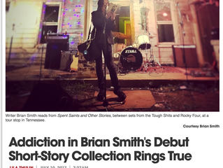 Brian Smith yaks Spent Saints with Denver Westword