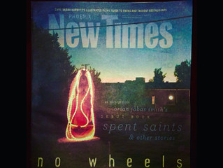 Spent Saints makes cover of Phoenix New    Times
