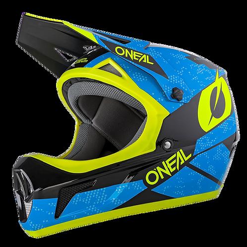 O´neal Sonus Helmet Deft Blue/Neon Yellow