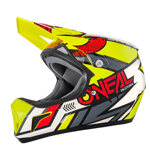 O´neal Sonus Helmet Strike Yellow