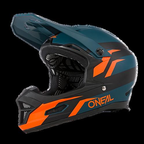 O´neal Fury Helmet Stage Petrol/Orange