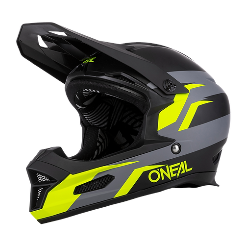 O´neal Fury Helmet Stage Black/Neon Yellow