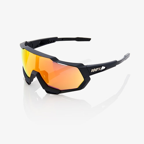 SPEEDTRAP® Soft Tact Black HiPER® Red Multilayer Mirror Lens + Clear Lens Includ