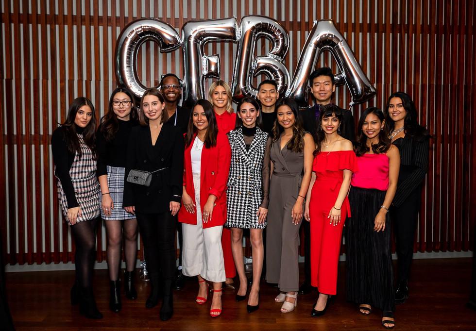 The CFBA Executive team 2018-2019