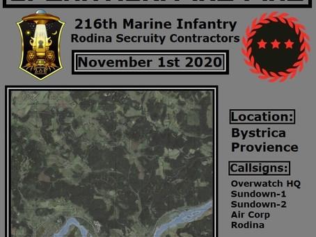 Operation Pine-Fire - Nov 1st