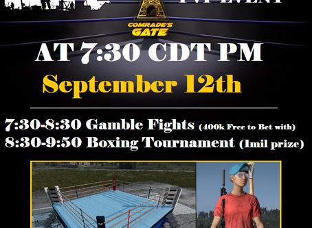 ComradeZ PVP Event: Fight Night DayZ