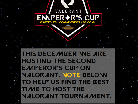 VALORANT Emperor's Cup Poll