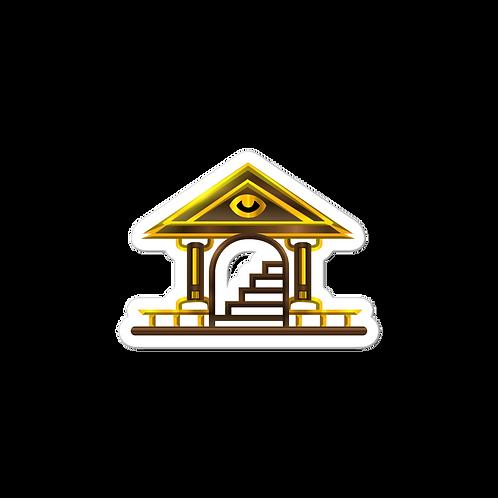 Comrade's Gate Logo Sticker v3