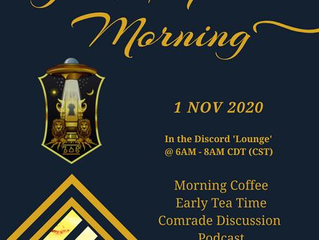 Good Imperial Morning - Nov 1