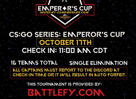 CS:GO Series: Emperor's Cup - OPEN REGISTRATION