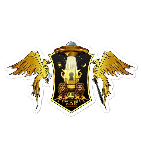 Comrade's Gate Logo Sticker v4