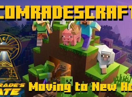 ComradesCraft Moving to New Host