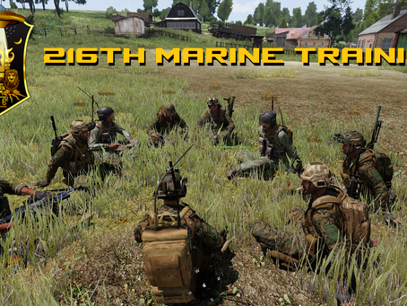 216th Marine Infantry Training