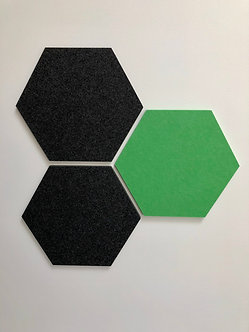 Charcoal Hexagon Pinboard