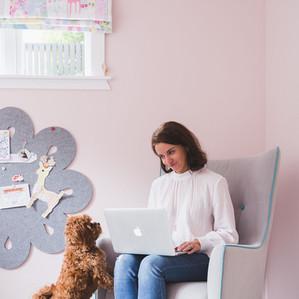 Amanda Rossiter and canine assistant Rosie