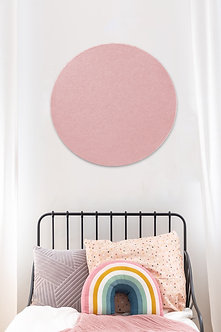 60cm Pink Contemporary Circle Pinboard