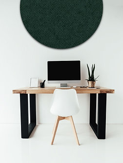 80cm Ngahere Contemporary Circle Pinboard
