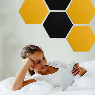 Hexagon Pinboards