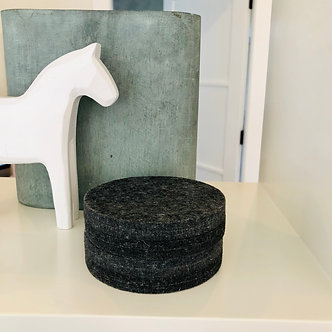 Charcoal Coasters (set of 4)