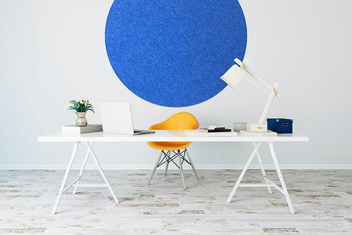 110cm Cobalt Contemporary Circle Pinboard
