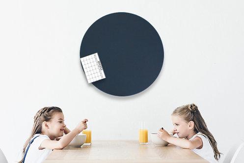 80cm Navy Contemporary Circle Pinboard