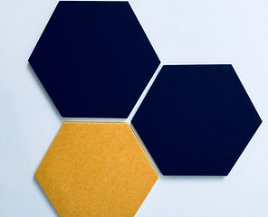 Pinpals Hexagon Pinboards