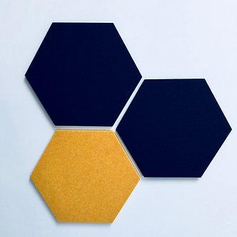 Navy Hexagon Pinboard