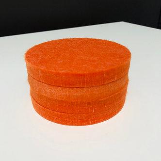 Orange Coasters (set of 4)