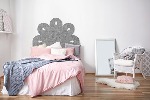 Scalloped Bed Head (other colours available)