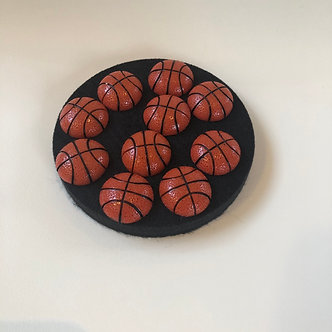 Basketball Push Pins (10 pk)