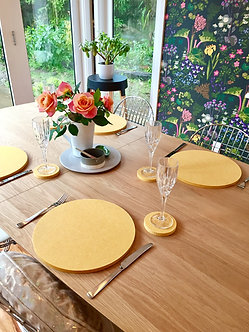 Mustard Placemats (set of 4)