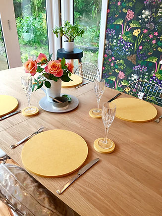Tableware - Modern placemats and Coasters