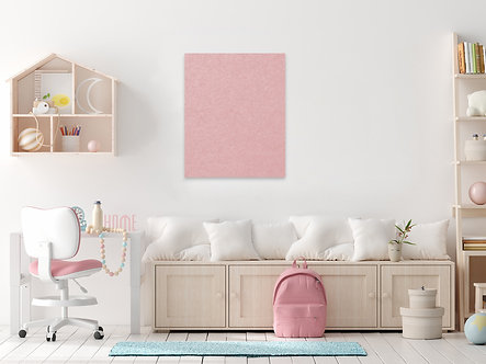 80 x 60cm Pink Contemporary Rectangle Pinboard