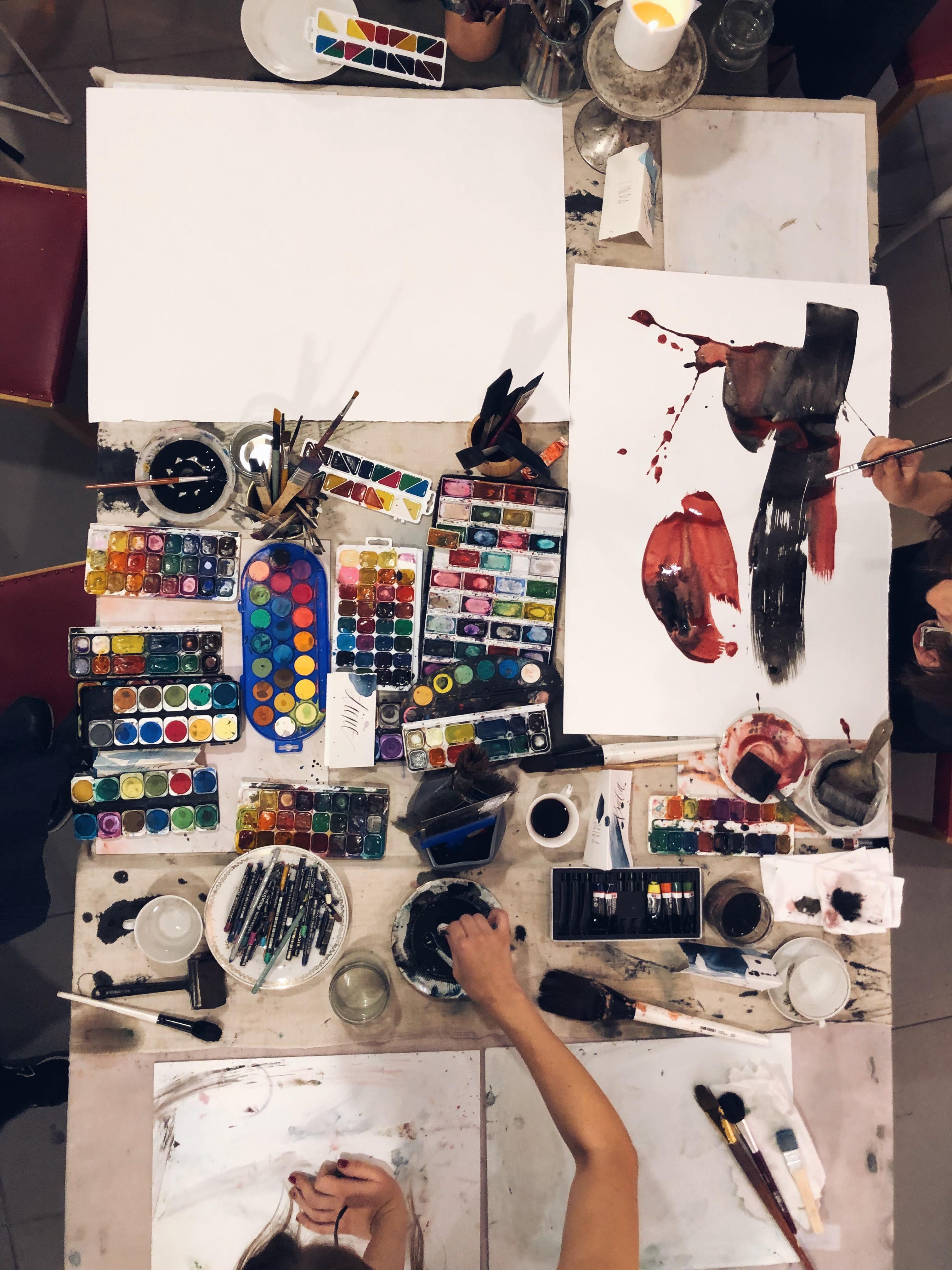 Akvareļu darbnīca Rīgā