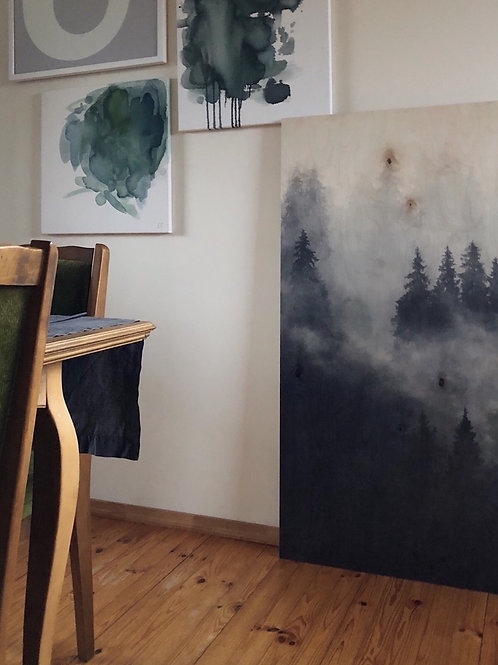 """Saplākšņa glezna """"Mežs"""""""