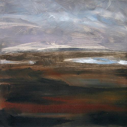 Mountain Lough I - Monotype
