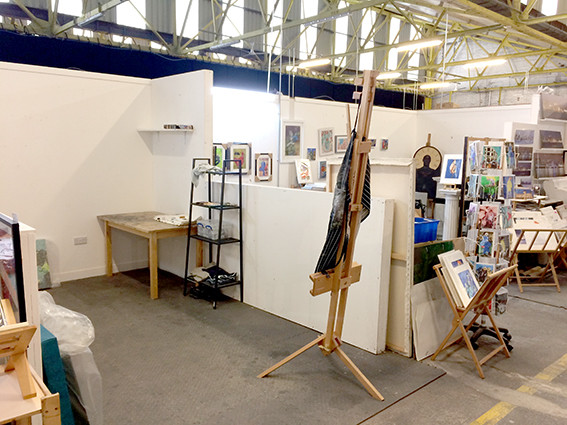 hub artist studios and gallery Baltic Triangle Liverpool