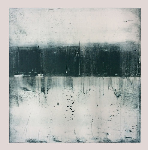Lough Erne Reflection - Monotype