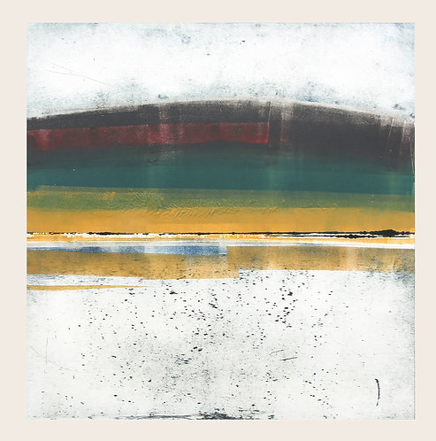Lough Erne and Bog - Monotype
