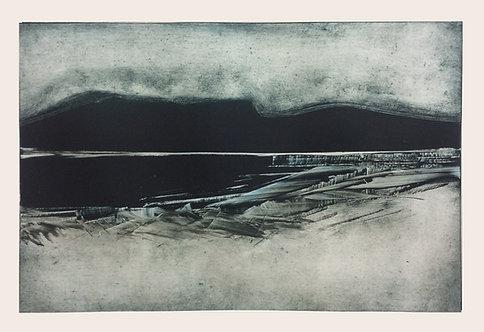 Mountain Lough - Monotype